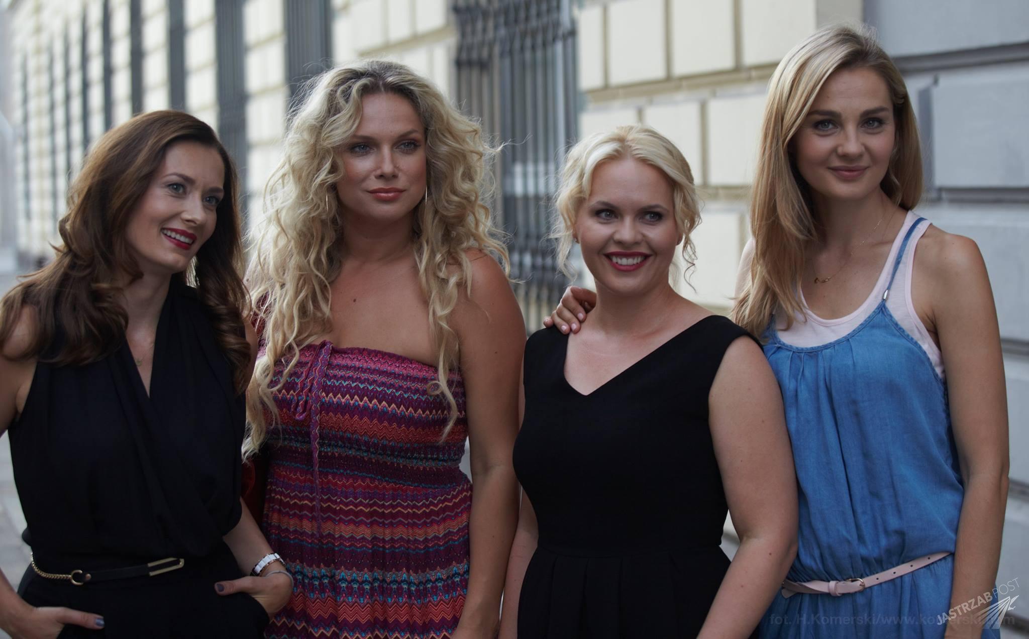Przyjaciółki, Joanna Liszowska, Magdalena Stużyńska, Małgorzata Socha, Anita Sokołowska