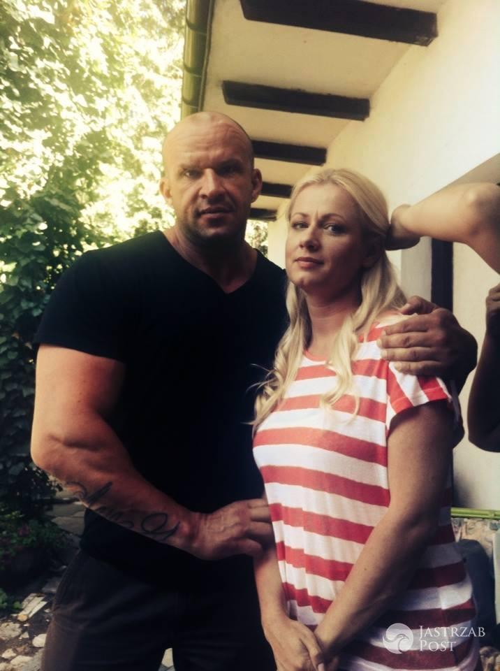 M jak miłość, Marzenka (Olga Szomańska), Andrzejek (Tomasz Oświeciński), fot: Facebook