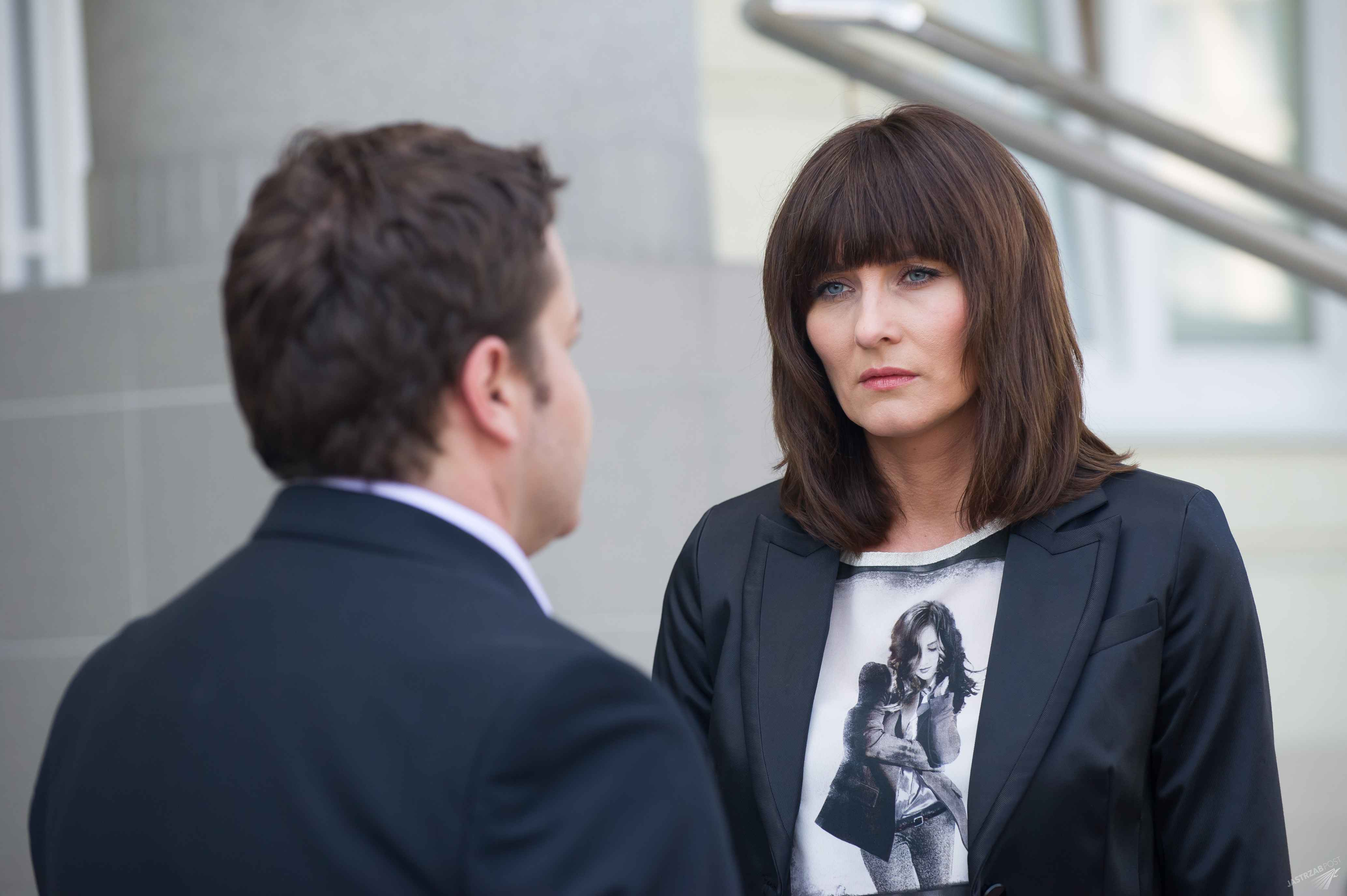 Na Wspólnej odcinek 2170, Kinga (Ilona Wrońska), Michał (Robert Kudelski), fot. x-news