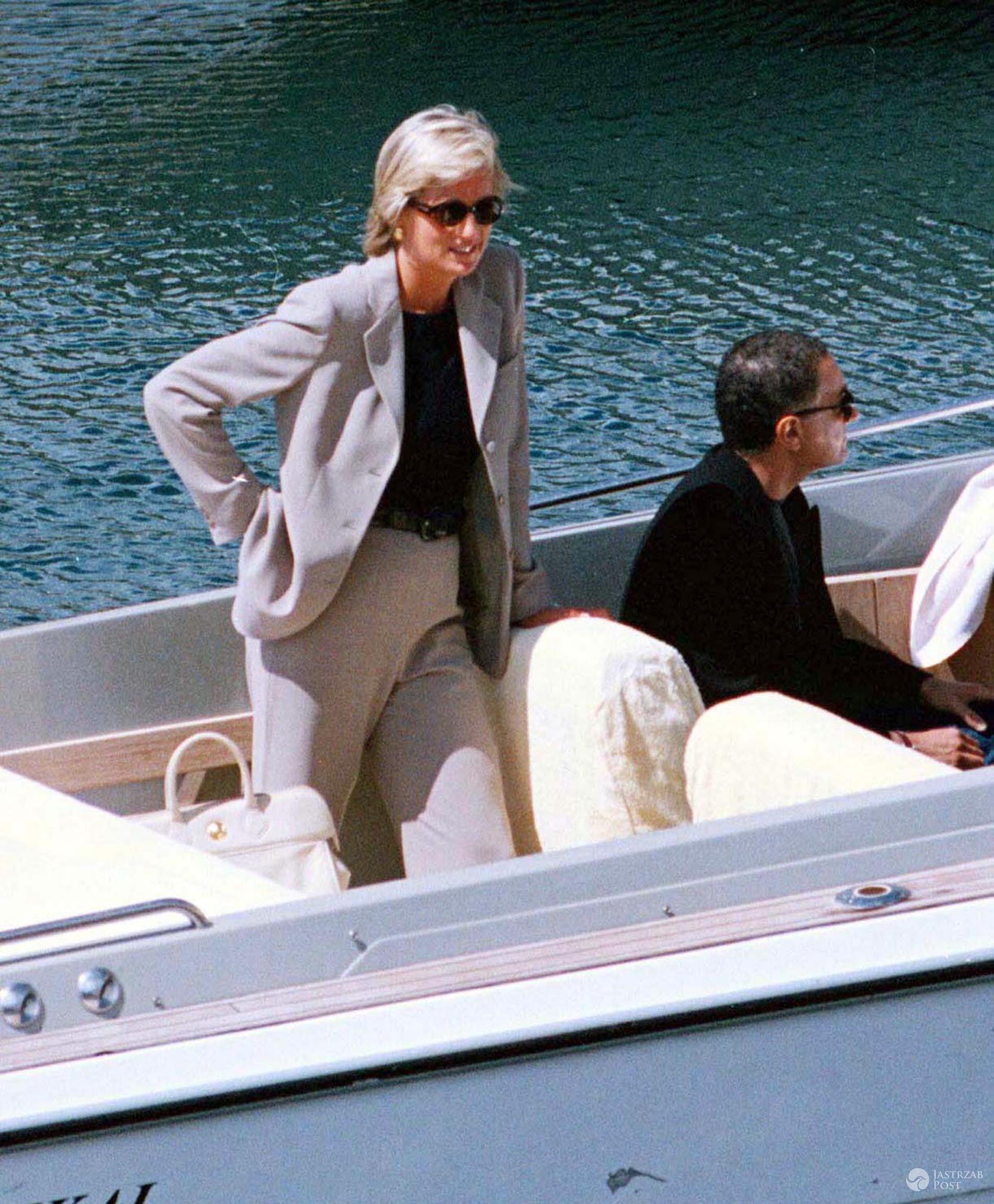 Diana i Dodi na wakacjach we Francji