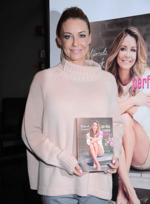 Małgorzata Rozenek podczas promocji swojej książki (fot. ONS)