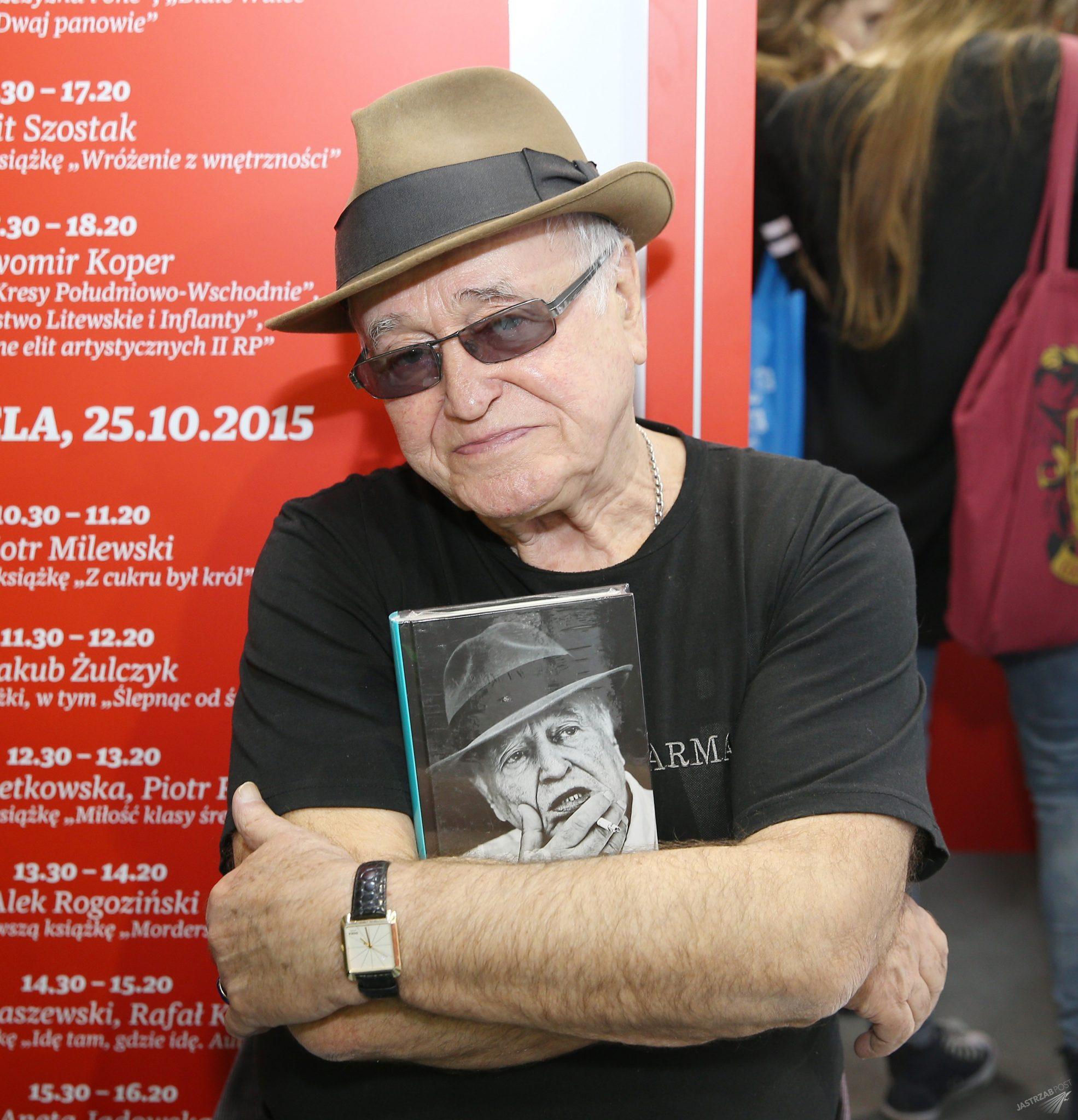 Jan Nowicki cierpi na depresję