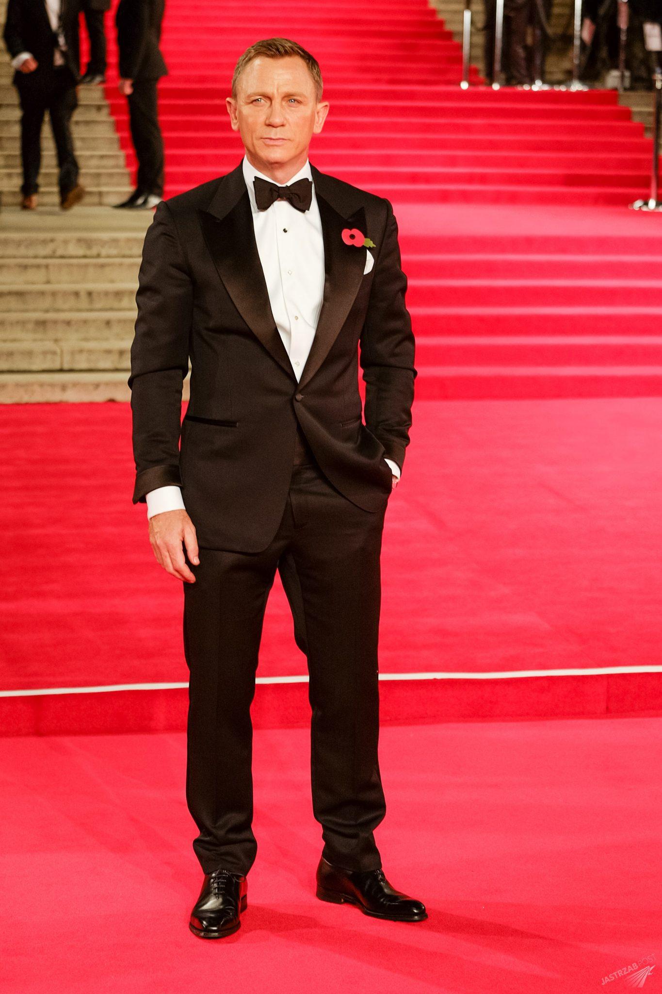 Daniel Craig, światowa premiera Spectre w Londynie (fot. ONS)