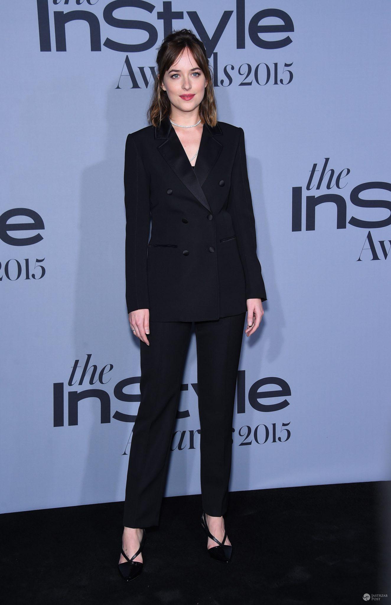 Dakota Johnson, gala InStyle Awards 2015 (fot. ONS)