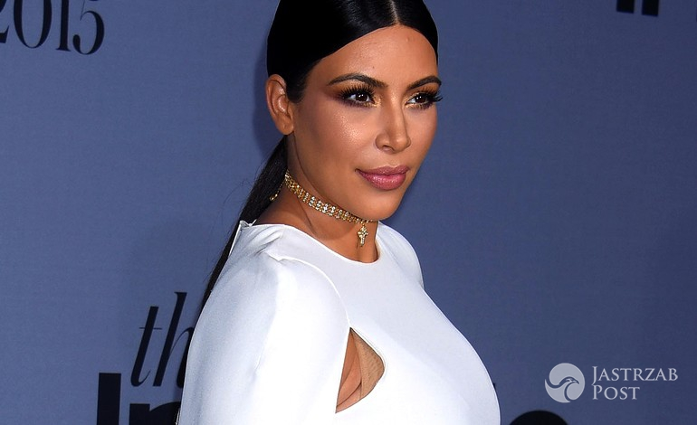 Kim Kardashian, gala InStyle Awards 2015 (fot. ONS)