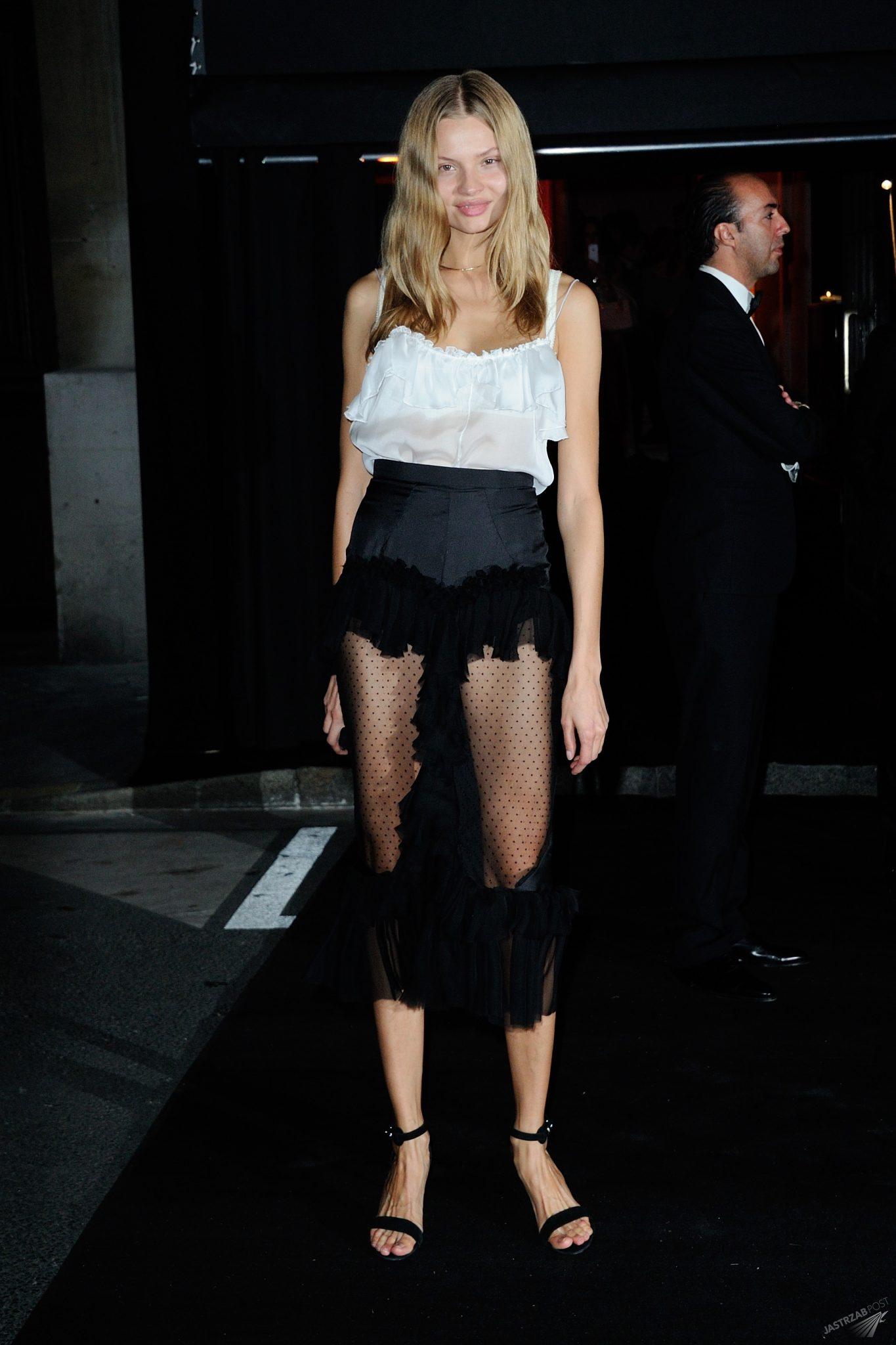 Magdalena Frąckowiak, impreza Vogue (fot. East News)