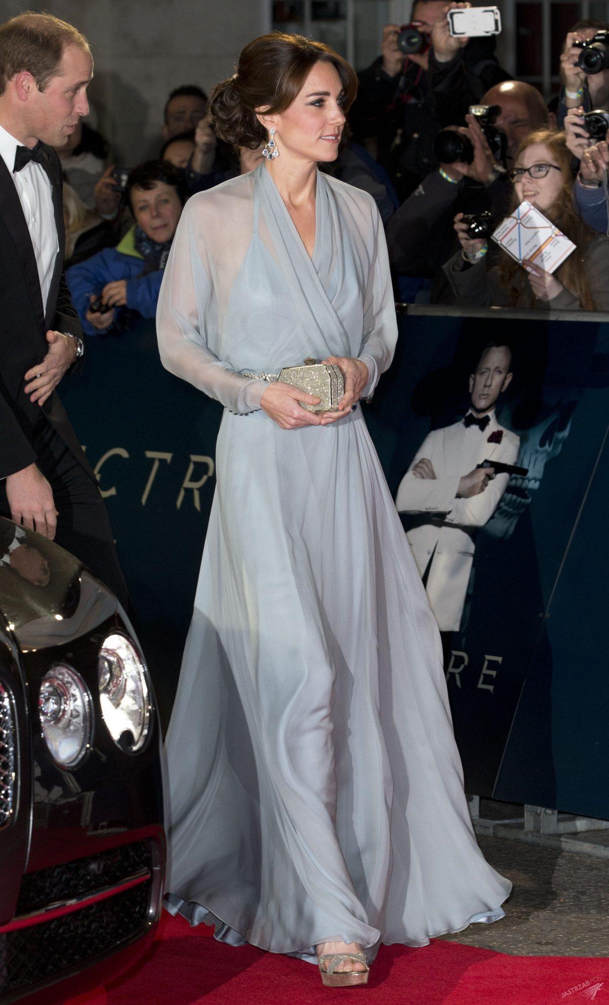 Księżna Kate i książę William na światowej premierze Bonda (fot. East News)