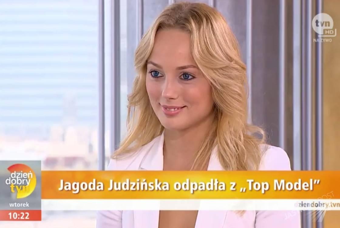 Jagoda Judzińska, uczestniczka Top Model 5 (fot. Dziendobry.tvn.pl)