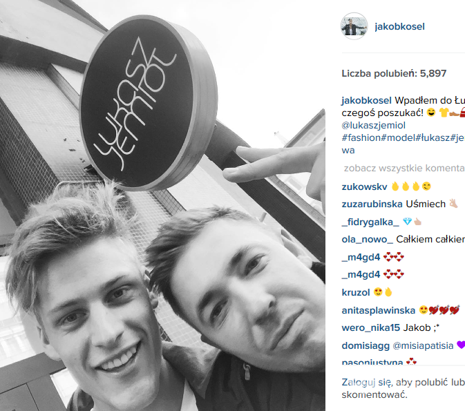 Jakob Kosel i Łukasz Jemioł (fot. Instagram)