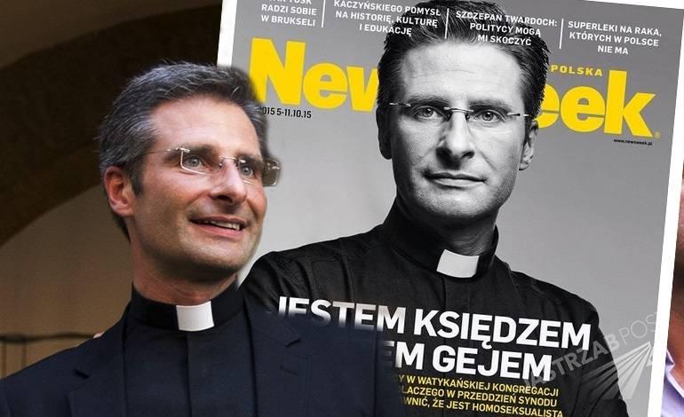 Ks. Krzysztof Charamsa w Newsweeku