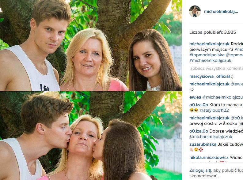 Michael Mikołajczuk (fot. Instagram)