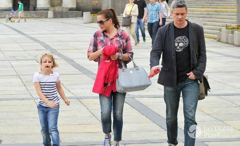 Lena Grabowska z rodzicami