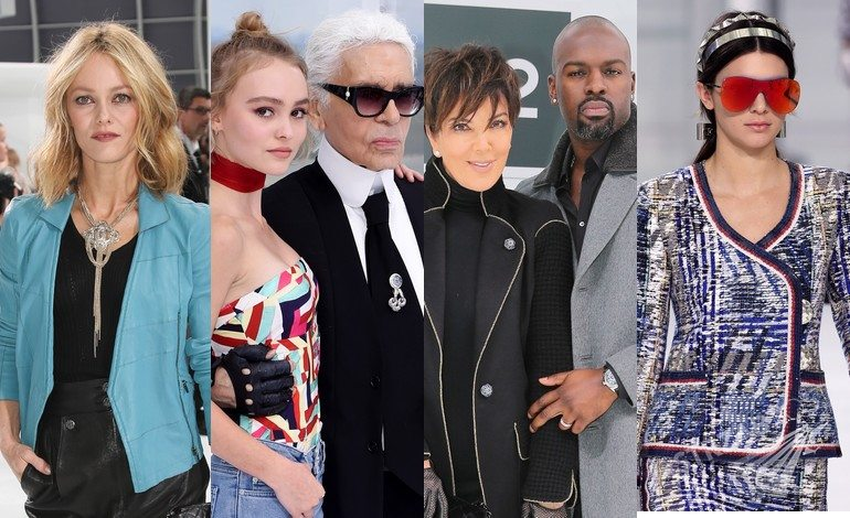 Goście okazu Chanel wiosna-lato 2016 (fot. East News)