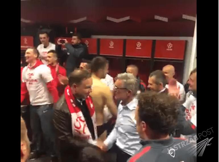 Prezedent Andrzej Duda składa gratulacje Polskiej reprezentacji