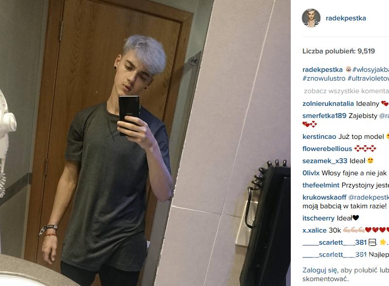 Radek Pestka zmienił fryzurę (fot. Instgram)