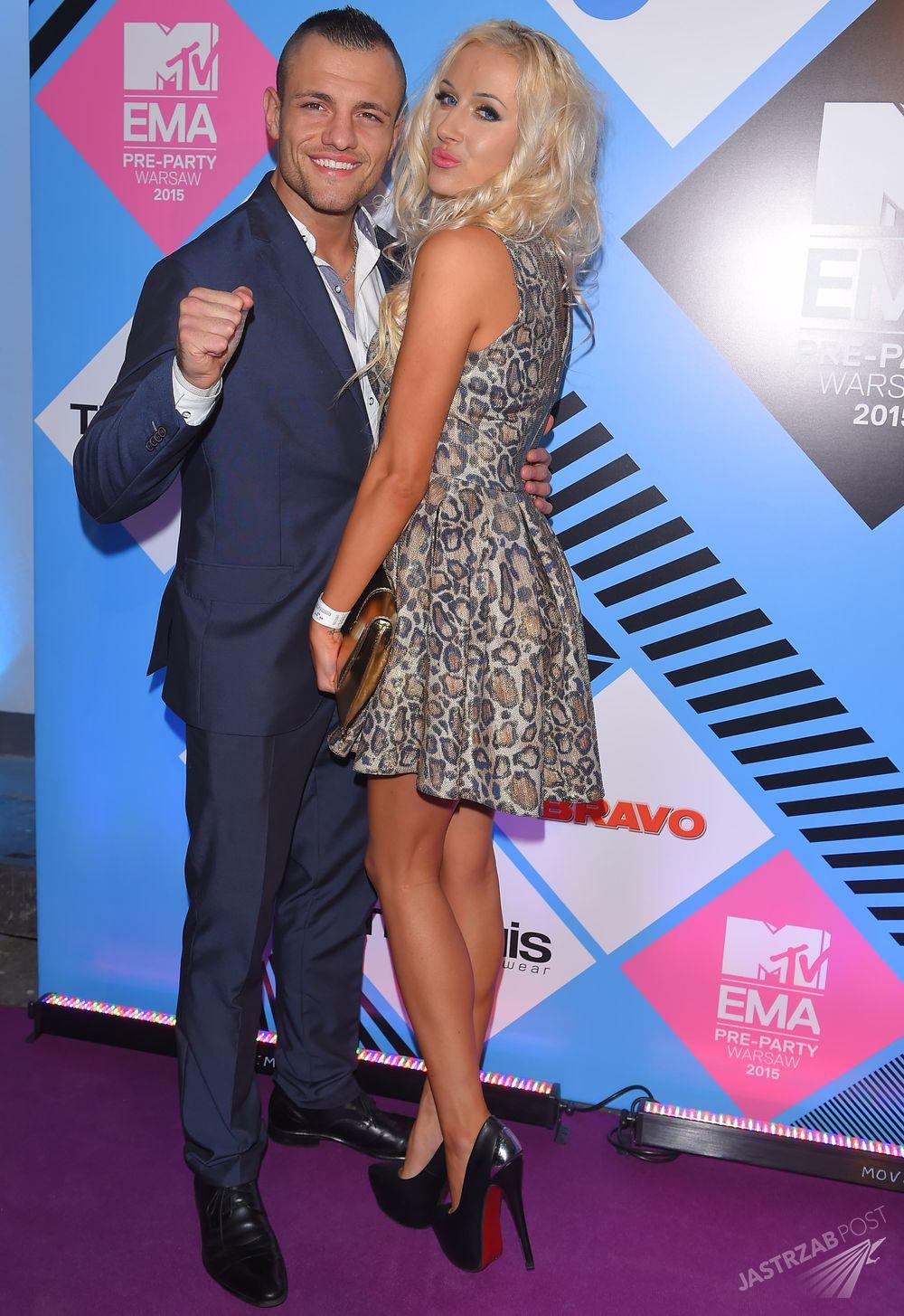 Eliza i Trybson na MTV EMA Pre-Party 2015