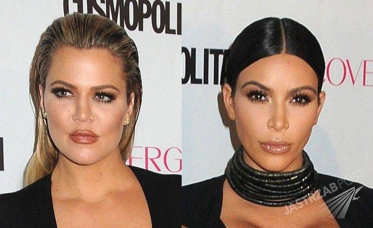Khloe i Kim Kardashian na 50. urodzinach Cosmopolitan (fot. East News)
