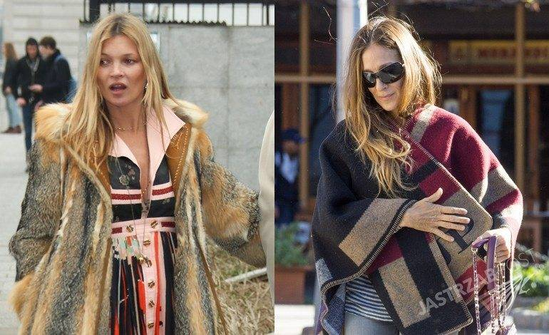 Kate Moss, Sarah Jessica Parker (fot. East News, ONS)