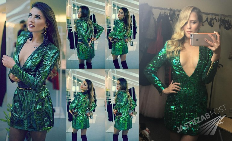 Maffashion i Jessica Mercedes w strojach z kolekcji Balmain x H&M (fot. Instagram)