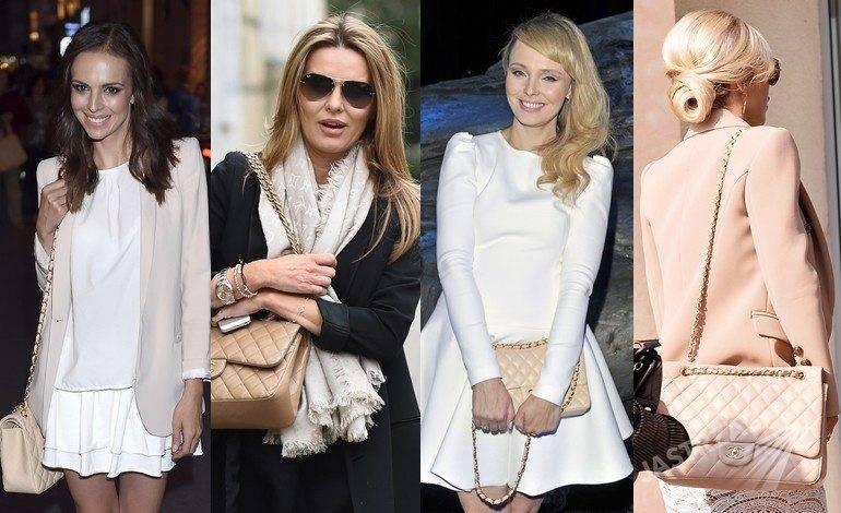 Gwiazdy z torebkami Chanel