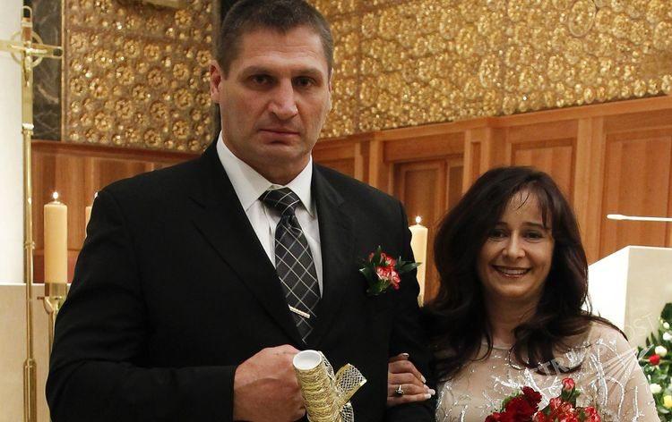 Andrzej Gołota i Mariola Gołota odnowili przysięgę małżeńską (Fot. AKPA)