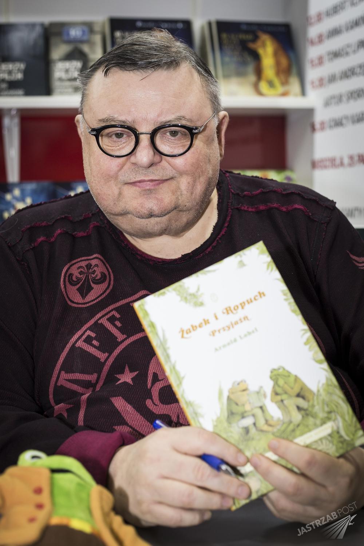 Wojciech Mann na Targach Książek w Krakowie