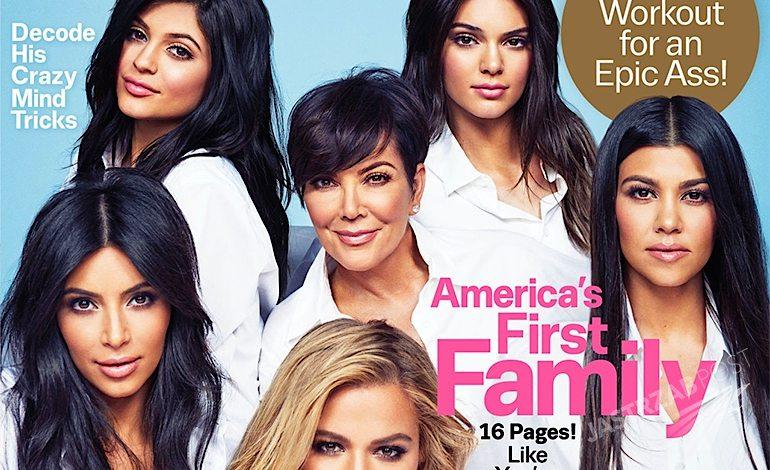 Cosmopolitan 50 lat klan Kardashian i Jenner na okładce