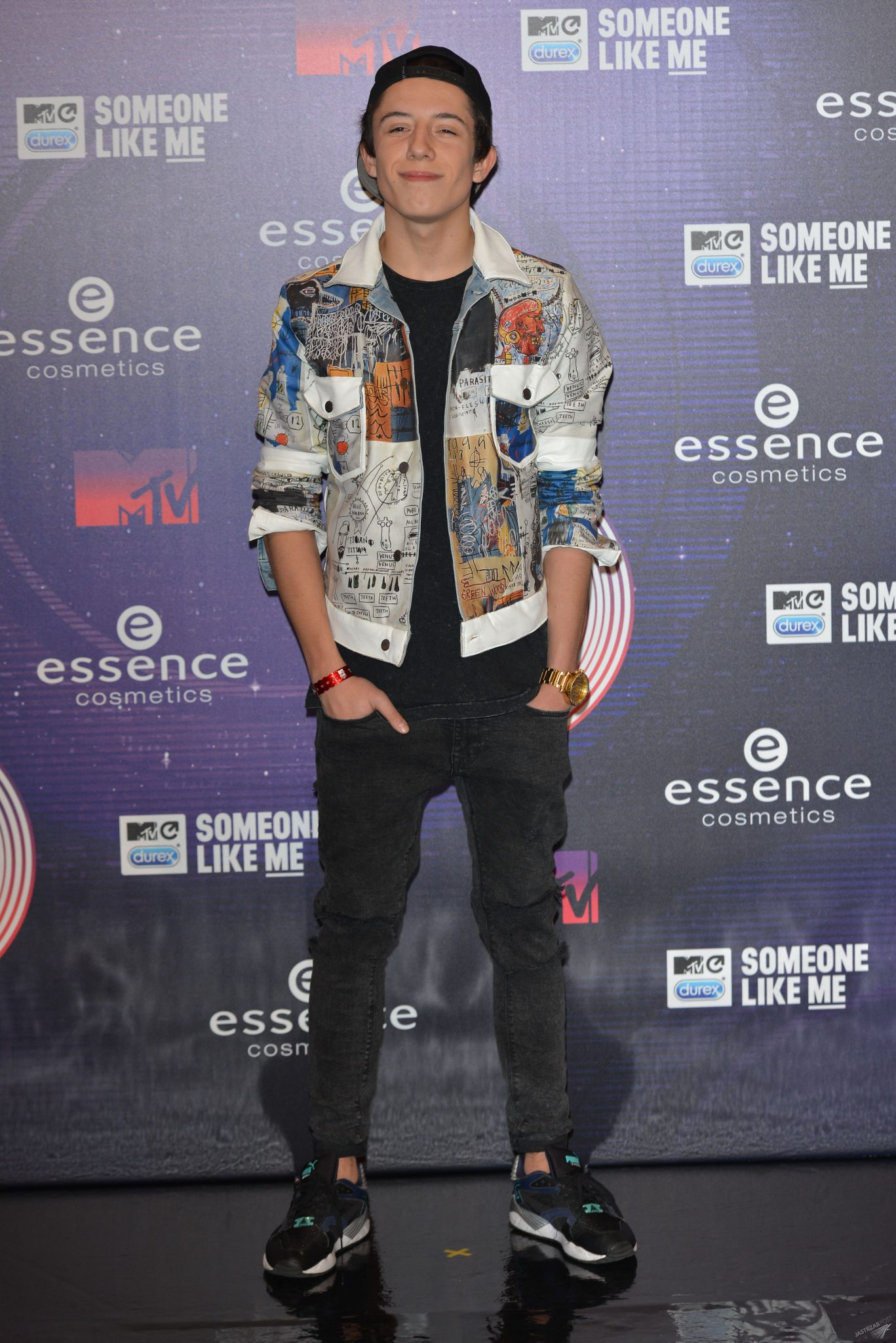 Dawid Kwiatkowski na MTV EMA 2014 w Glasgow