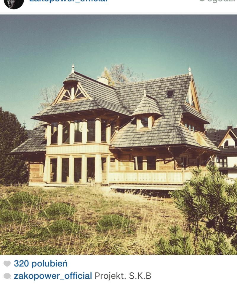 Dom zaprojektowany przez Sebastiana Karpiela-Bułecka