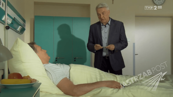 M jak miłość odcinek 1163, Robert Moskwa (Artur Rogowski), Zbigniew Stryj (Robert Bilski) fot: MTL maxfilm