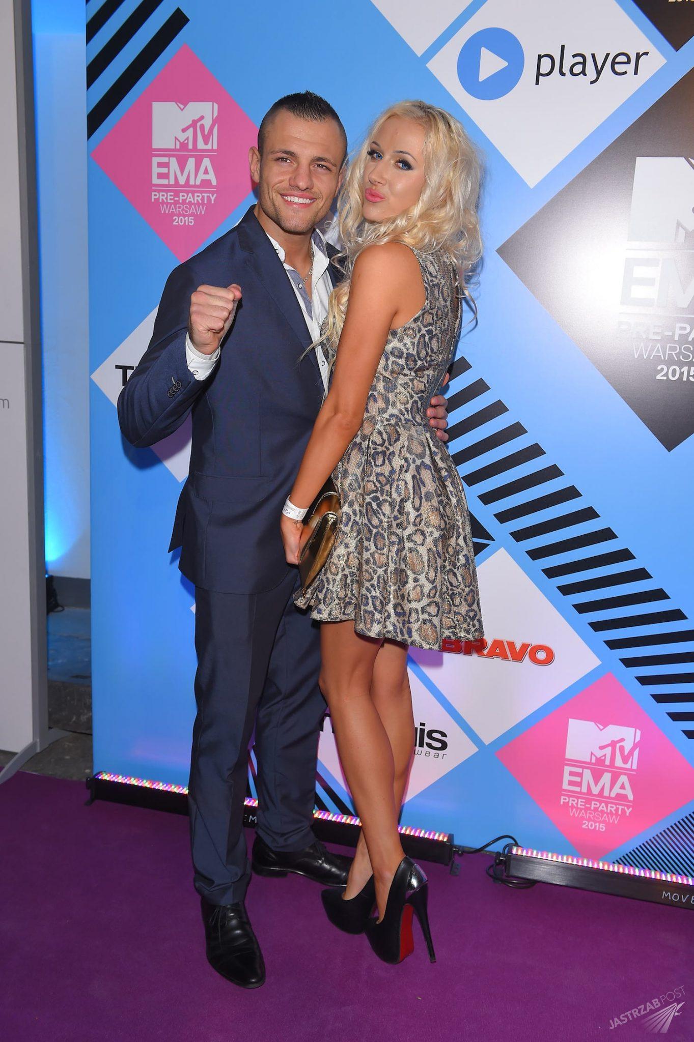 Eliza i Trybson na MTV EMA 2015 Pre-party