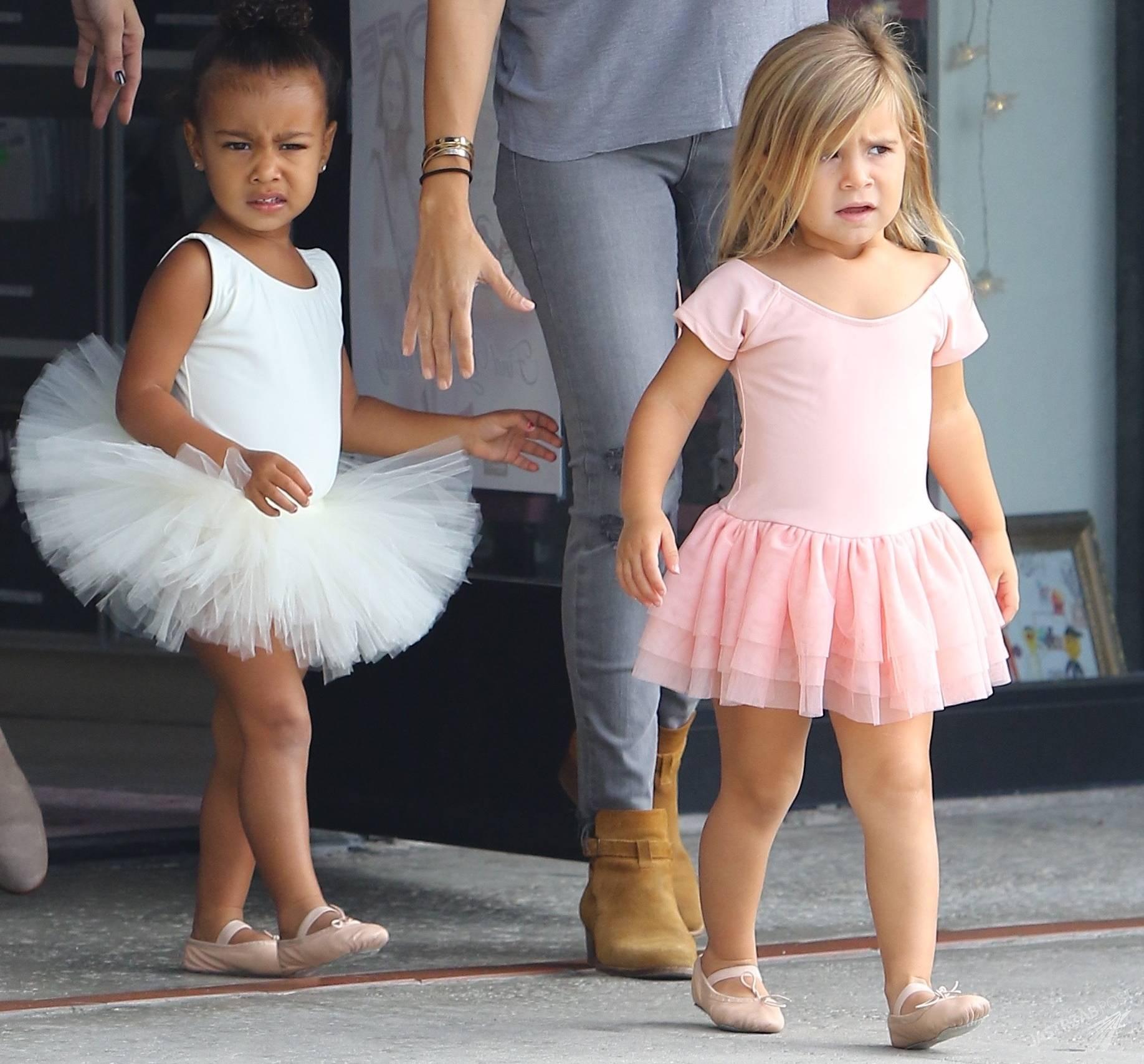 Penelope córka Kourtney Kardashian oraz North West , córka Kim Kardashian