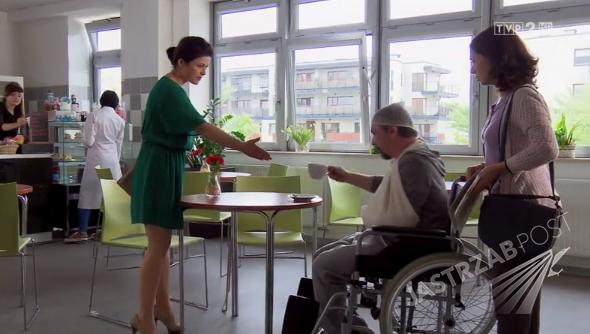 M jak miłość odcinek 1166, Michał Marszałek (Andrzej Andrzejewski), Kinga Zduńska (Katarzyna Cichopek), Zuza (Jolanta Fraszyńska), fot: MTL Maxfilm