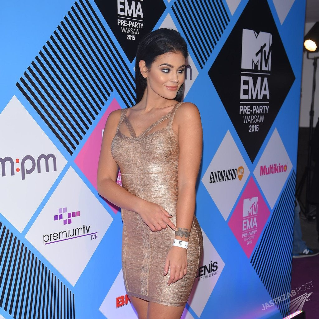 Honorata Skarbek Honey na MTV EMA 2015 Pre-party