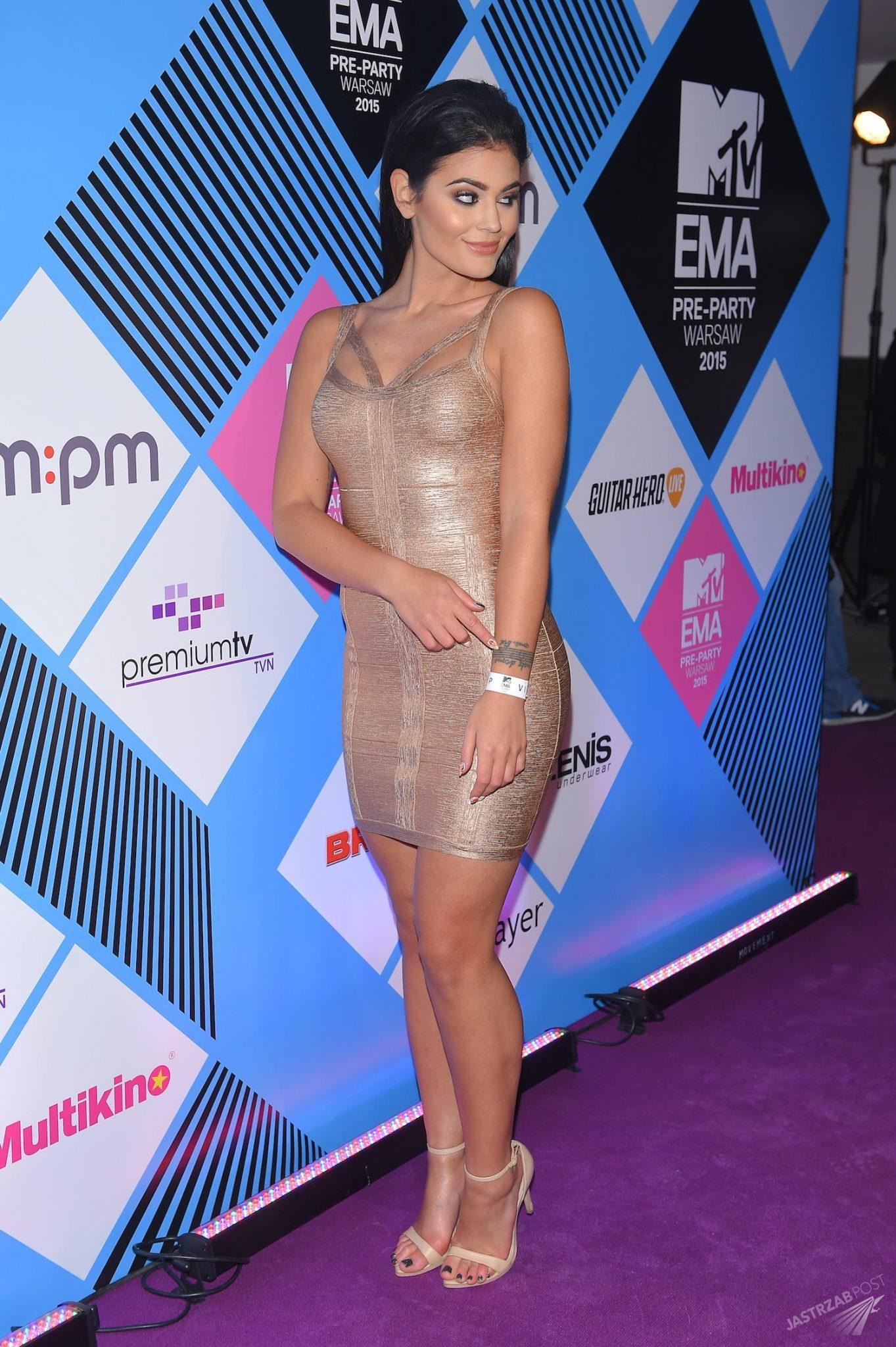 Honorata Skarbek Honey na MTV EMA 2015 Pre-party