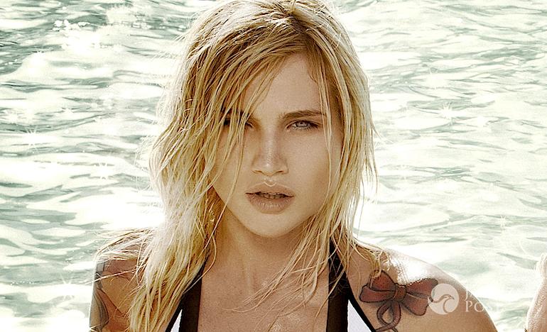 Karolina Gilon jest blondynką