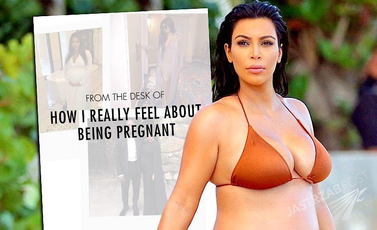 Kim Kardashian o drugiej ciąży. Cały wpis ze strony internetowej