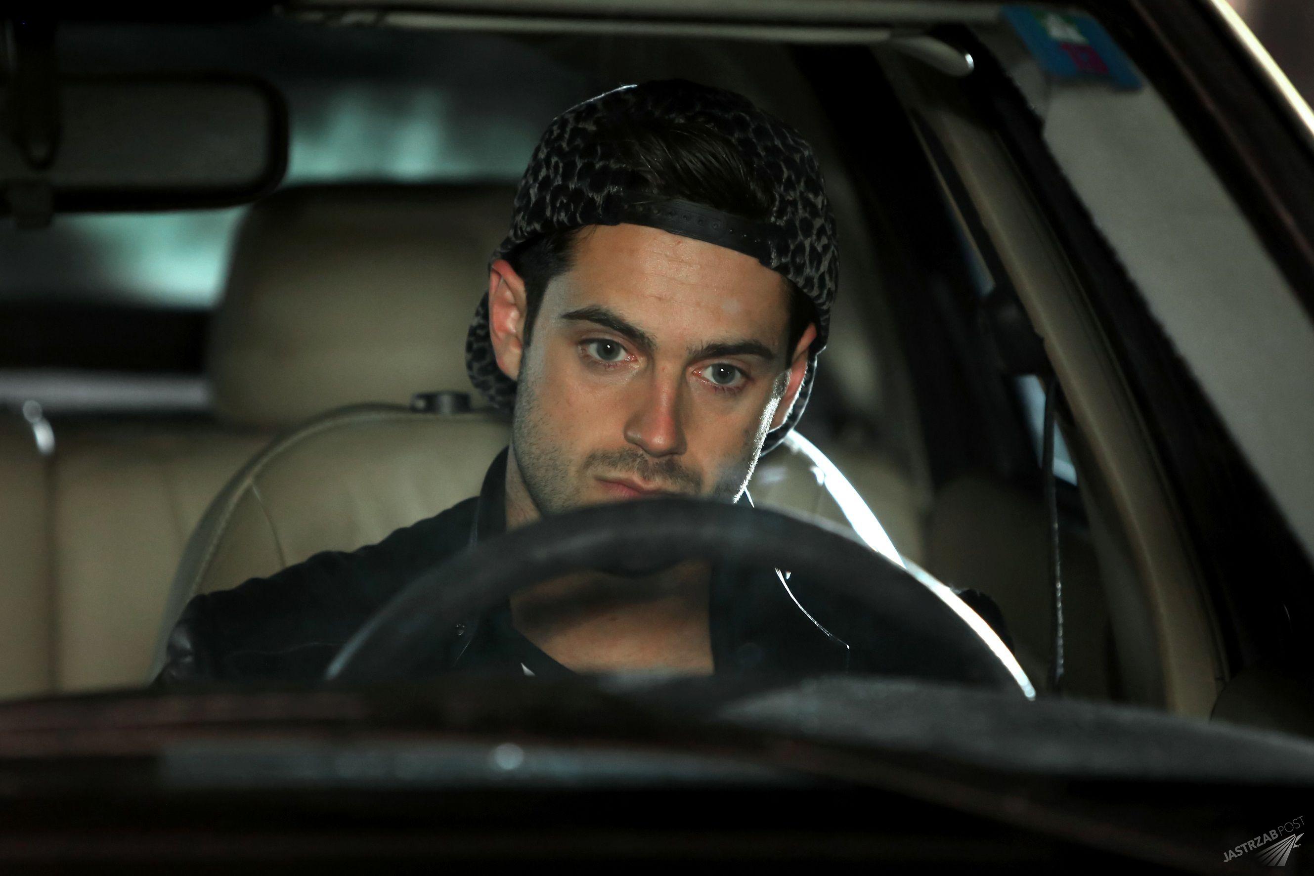 Krystian Kukułka jako Ernest wypadek w Barwach szczęścia