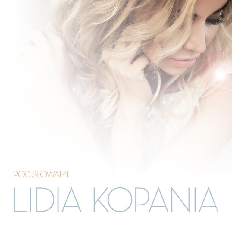 "Lidia Kopania ""Pod słowami"" - okładka płyty"