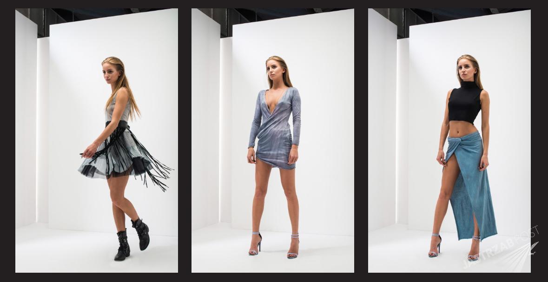 Ubrania zaprojektowane przez Agatę Pietras