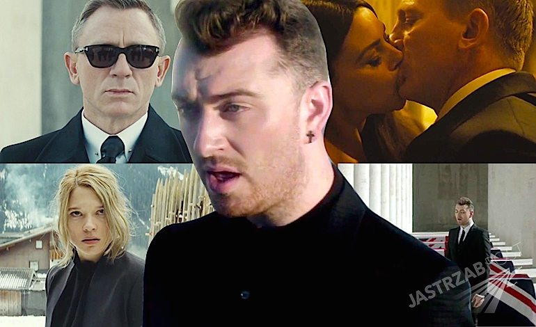 Teledysk James Bond Spectre Piosenka Sam Smith Writing's On The Wall