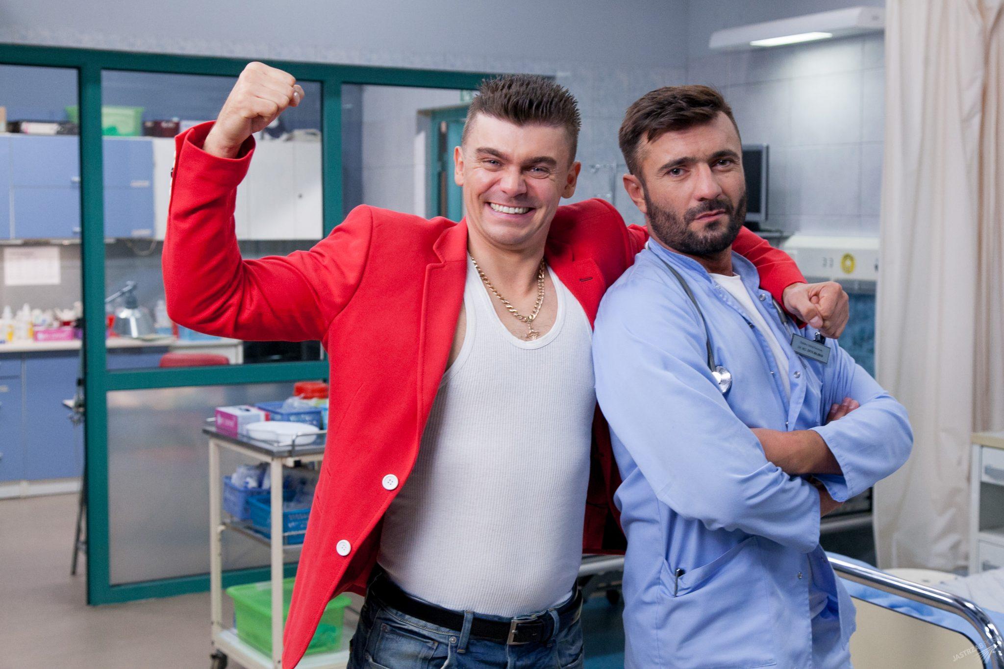 Tomasz Niecik w serialu ''szpital'', fot: Materiały prasowe