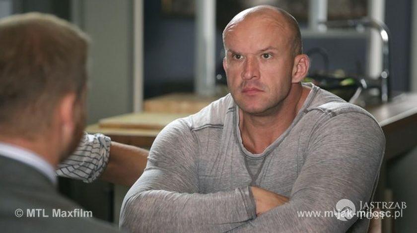 M jak miłość odcinek 1176, Andrzejek (Tomasz Oświeciński)