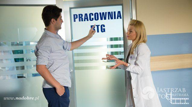 Na dobre i na złe Adam (Grzegorz Daukszewicz), Agata (Emilia Komarnicka)