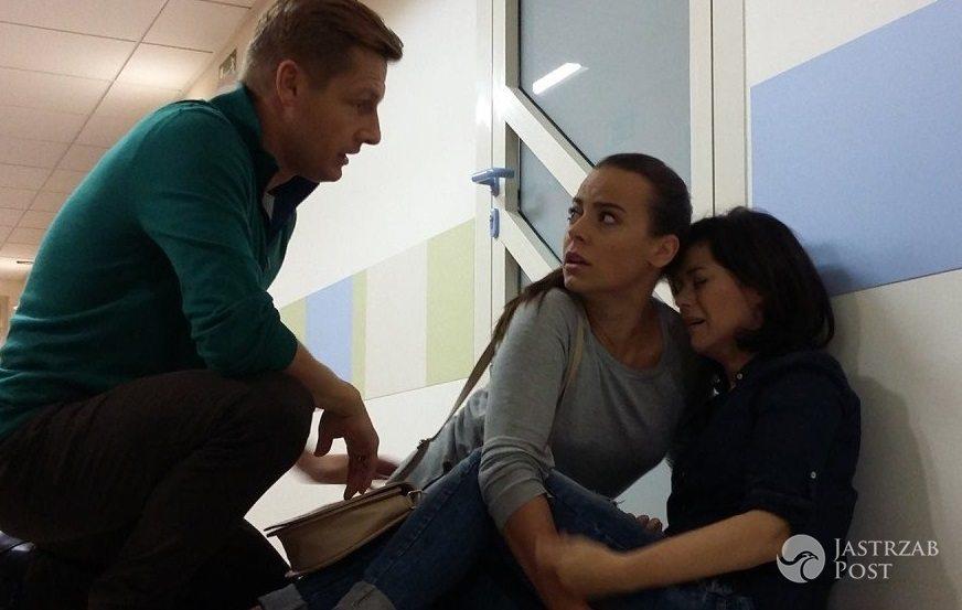 Nowe odcinki M jak miłość, Kinga Zduńska (Katarzyna Cichopek) w szpitalu u córki