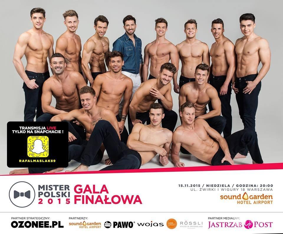Mister Polski 2015 kandydaci