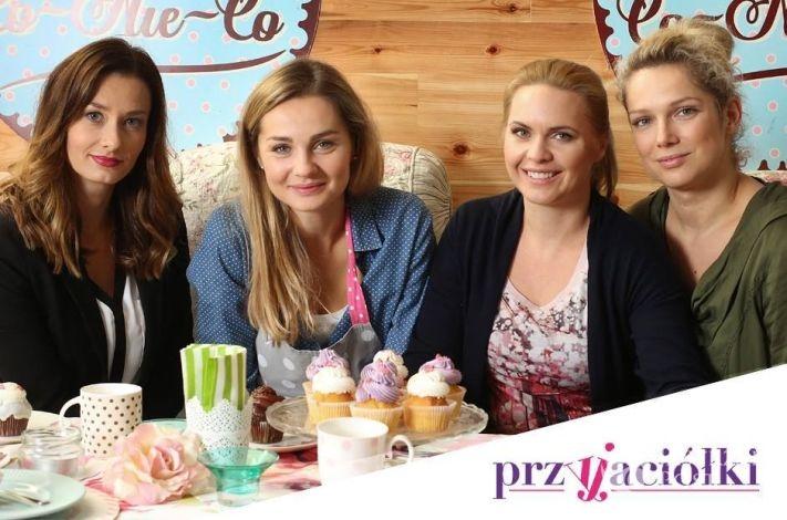 Przyjaciółki, Zuza (Anita Sokołowska), Patrycja (Joanna Liszowska), Inga (Małgorzata Socha), Anka (Magdalena Stużyńska),