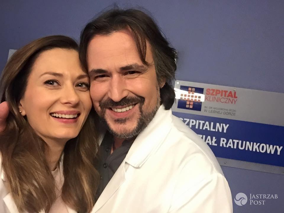 Na dobre i na złe, Lena (Anita Sokołowska), Witek (Bartosz Opania) fot: Facebook