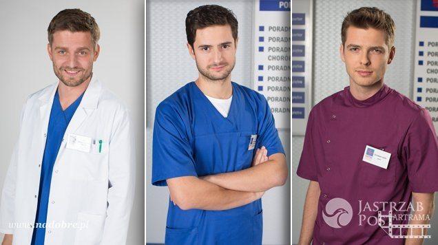 Na dobre i na złe, Adam (Grzegorz Daukszewicz), Przemek (Marcin Rogacewicz), Szczepan (Kamil Kula)