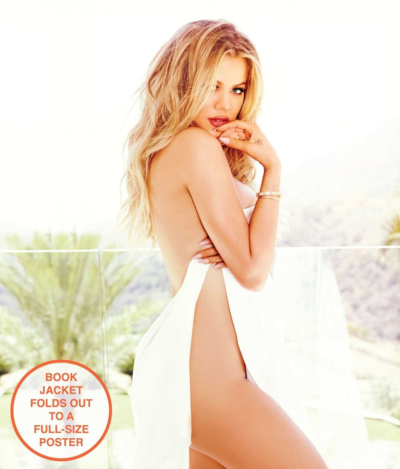 Khloe Kardashian poradnik Strong Looks Better Naked, źródło: amazon.com